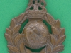 KK 2100. Royal Marines, cap badge with slide 38x47 mm.