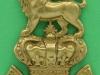 Royal Marine Band 1877 Valise badge. 6 x97 mm .