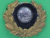 Unknown maybe officers collar badge. 38x32 mm.