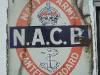 Navy & Army Canteen Board enamel sign c.1920