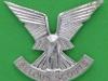CO3057. Selous Scouts anodized cap badge Reutler lugs. 41x36 mm.