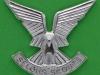 CO3057. Selous Scouts anodized cap badge. Lugs Reutler 40x36 mm.