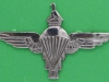 CO3491. Zimbabwe Army Parachute Regiment beret badge post 1991. Reutler lugs 65x40 mm.