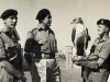 Selous Scouts NCO with regiments mascot