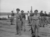 Members of 2nd SAS on parade for an inspection by General Bernard Montgomery, following the successful capture of the port of Termoli. On the left is Major E Scratchley DSO, MC, and on the right is…