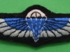 Special Air Service, Malayan Emergency period padded cloth parachute wing  issue. 23x67 mm