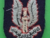 Special Air Service, cloth beret badge from 1970ties. 32x47 mm