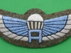Unknown Special Air Service padded cloth para wing. 74x27 mm