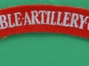 Honourable Artillery Company cloth shoulder title