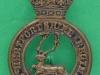 KK 1805. Hertfordshire Regiment. Narrow antlers. Slide 28x42 mm.