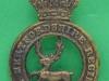 KK 1806. The Hertfordshire Regiment. Wider antlers. Slide27x41 mm.