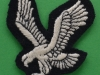 Army Air Corps late 1970ies production. Left arm patch 50x55 mm.
