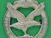 CW356. Glider Pilot Regiment. Officers collar badge, Firmin London, 30x35 mm. 1950-53.