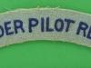 The Glider Pilot Regiment. Cloth shoulder title. 127x23 mm.