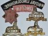 The Lincolnshire Regiment badges reverse.