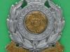 KK 1730. The 6th Bataillon the Hampshire Regiment. Slide & brace holes. 36x42 mm.