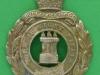 KK 1733. 8th Isle of Wight Rifles, Princess Beatrices Battalion, the Hampshire Regiment. Lugs 34x45 mm.
