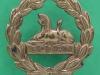 KK 635. Gloucestershire Regiment back badge. Slide 21 mm.