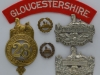 The Gloucestershire Regiment badge group.