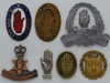 Irish Nationalist Ulster Volunteer Force badges.