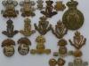 Irish regimental badges pre 1920.