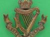 KK 696. Connaught Rangers. Bronze cap badge. Slide replaced 39x42  mm.