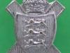 The Royal Jersey Light Infantry Association. Pin 15x19 mm.