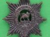 CW199. Worcestershire Regiment, Bronce collar badge. 24x33 mm.