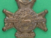 CW230. Sherwood Foresters. Nottinghamshire and Derbyshire Regiment. Collar badge  30x32 mm.