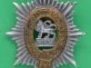 KK 1991. The Worcestershire Regiment 1925. Slide & brace holes. 36x51 mm.