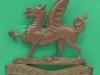 KK 1717. The Brecknockshire Battalion the South Wales Borderers. Slide 46x45 mm.