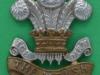KK 653. The Welsh Regiment. All brass 1916 economy badge. Slide 39x42 mm.