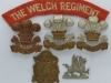 The Welch Regiment badge group.