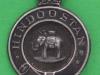 Duke of Wellington, West Riding, Hindustan. Association badge 20x30 mm.