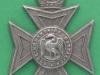 KK 1737. Buckinghamshire Battalion the Oxfordshire & Buckinghamshire Regiment. Lugs 37x48 mm.