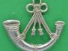 KK 2005. Oxfordshire and Buckinghamshire Light Infantry  beret 1950. Slide Gaunt 36x33 mm.