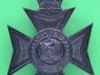 KK 2391. Buckinghamshire Battalion the Oxfordshire & Buckinghamshire Regiment. Black Slide Gaunt 38x48 mm