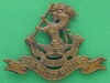 KK 642. Duke of Wellingtons Regiment West Riding officers bronzce cap badge Gaunt London. Folding blades 54x41 mm.