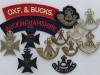 Oxfordshire & Buckinghamshire Light Infantry badge gropu (1)