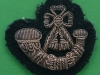 Oxfordshire & Buckinghamshire Light Infantry bouillon beret badge, 50x44 mm.