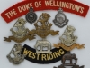 West Riding (Duke of Wellington) badges.