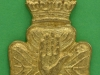KK 1153. 14th Battalion, Young Citizens, Royal Irish Rifles, different design, sand cast with lugs 27x41 mm.