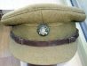Royal Ulster Rifles officers cap with boss badge