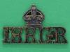 18th  Garwahl Regiment, ww1 shoulder title