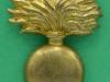 KK 1889. Royal Scots Greys, Bandsmens cap badge. brass, slider 26x33 mm.