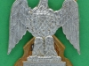 KK 1890 Royal Scots Dragoon Guards. NCO`s arm badge. 3 lugs 37x46 mm.